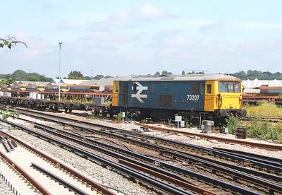 73207 Eastleigh 19/06/14 6Y73 Southampton Western Docks to Eastleigh