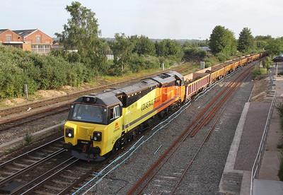 70810 Eastleigh 11/06/14 6Z30 Westbury to Eastleigh