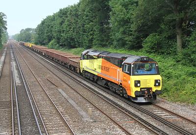 70809 Old Basing 24/06/14 6Y41 Eastleigh to Hoo Junction