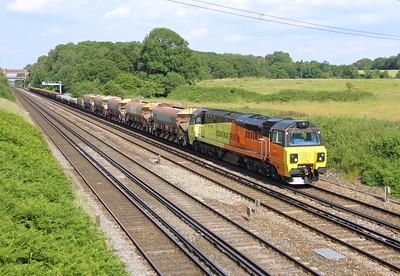 70806 Potbridge 20/06/14 6Y42 Hoo Junction to Eastleigh