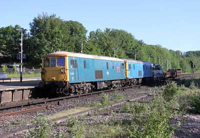 73201 Micheldever 08/06/14 7G10 Nine Elms to Eastleigh with 73109