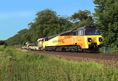 70806 Micheldever 19/06/14 6Y42 Hoo Junction to Eastleigh