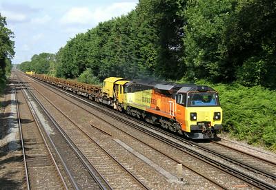 70805 Old Basing 30/06/14 6Y41 Eastleigh to Hoo Junction