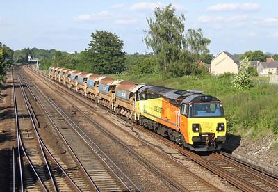 70808 Worting Junction 18/06/14 6Y42 Hoo Junction to Eastleigh