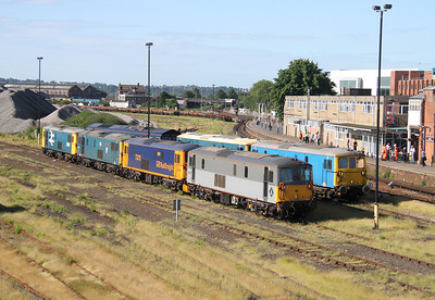 73107 Eastleigh 08/06/14 with 73212, 73119, 73207, 73109, 73201 and 66413