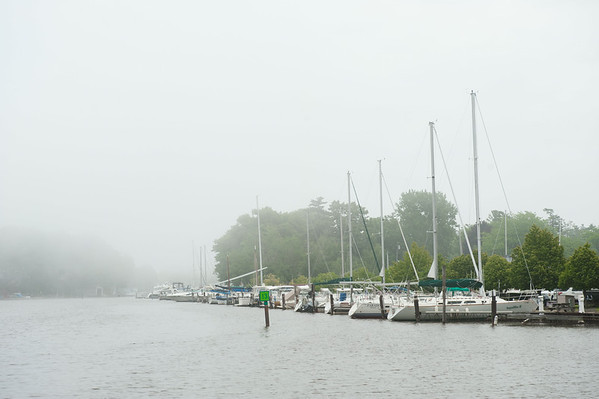 140611 Docks JOED VIERA/STAFF PHOTOGRAPHER-Wilson, NY-Boats are docked at Wilson-Tuscarora Park. June 11, 2014