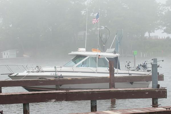 140611 Docks JOED VIERA/STAFF PHOTOGRAPHER-Wilson, NY-A boat is docked at Wilson-Tuscarora Park. June 11, 2014