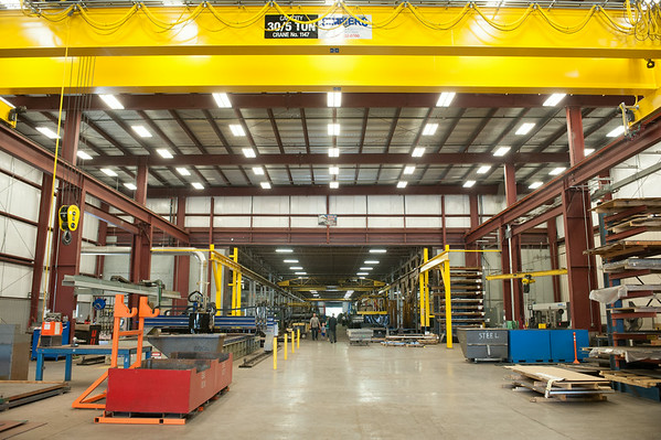140626 JOED VIERA/STAFF PHOTOGRAPHER-Lockport, NY- Th newly constructed  Diversified plant on June 26, 2014