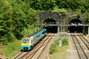 25 June 2014 :: 175001 outside the twin bores of Newport Tunnel working 1W60 the 11:03 from Carmarthen to Manchester Piccadilly
