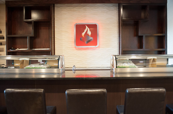 140604 Sushi JOED VIERA/STAFF PHOTOGRAPHER-Lockport, NY-Steak Stone & Sushi is furnished and awaiting licenses to open. June 4, 2014.