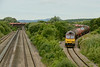 25 June 2014 :: 60065 having just passed over Bishton Flyover working the loaded oil from Robeston to Westerleigh, 6B13