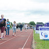 140614 Relay JOED VIERA/STAFF PHOTOGRAPHER-Lockport, NY-Relayers walk the track at the the Relay for Life at Emmet Belknap.. June 14, 2014