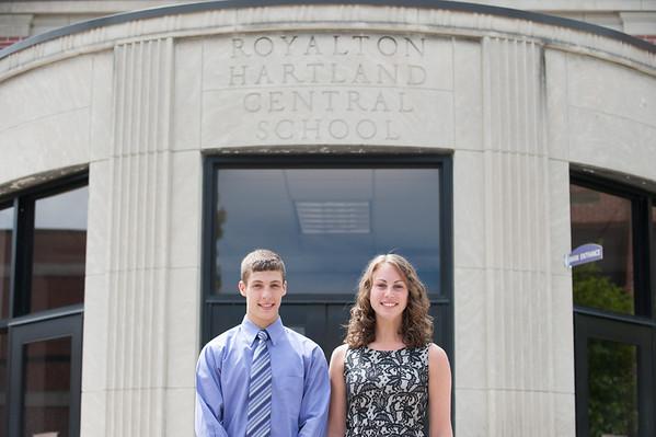 140604 RoyhartJOED VIERA/STAFF PHOTOGRAPHER-Middleport , NY-Evan Conley and Courtney Van Buren. June 4, 2014.