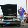 140610 Cruise night JOED VIERA/STAFF PHOTOGRAPHER-Pendleton, NY-Ken Zuhr stands next to his '67 Oldsmobile 442     during cruise night at The Dugout. June 10, 2014