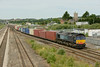 25 June 2014 :: 66416 passing Severn Tunnel Junction with 4O51 from Wentloog to Southampton