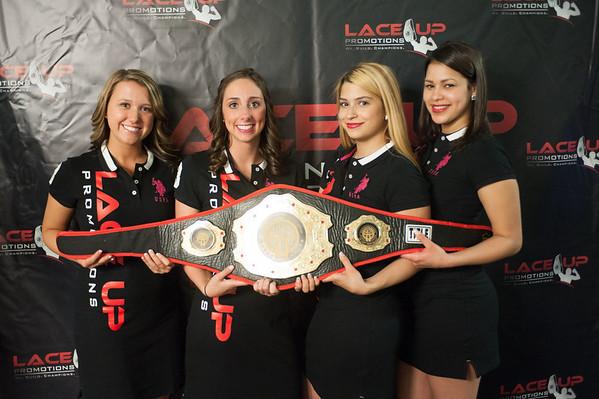 140607 Fight JOED VIERA/STAFF PHOTOGRAPHER-Lockport, NY- Cassidy Boyle, Marissa Carscione, Milta Escoto and Cristal Fernandez. June 7, 2014.