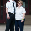140613 Wheeler JOED VIERA/STAFF PHOTOGRAPHER-Lockport, NY- Major John and Martha Wheeler stand outside of the Salvation Army. June 13, 2014