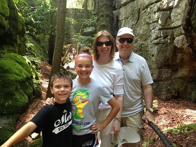 June 21 - Chattanooga (Rock City, Ruby Falls, Incline Train with Yellin Grandparents)