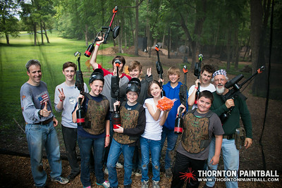 Brandon's Bachelor Party, Ian's Birthday Party, Kyles Sharp Shooters - 6/28/2014 2:15 PM