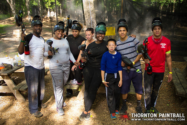Ameena's and Kevin's Birthday Parties and MEGAISBOSS PAINTBALL Extravaganza - 6/7/2014 4:39 PM