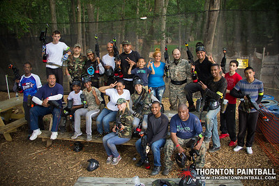 Ameena's and Kevin's Birthday Parties and MEGAISBOSS PAINTBALL Extravaganza - 6/7/2014 4:48 PM