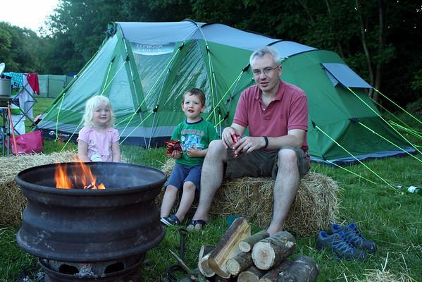 Camping at Bedgebury