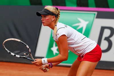 01.05 Fanny Stollar - Team Hungary - Junior fed cup final round girls 16 years 2014_01.05