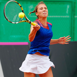 01.16 Lucie Wargnier - Team France - Junior fed cup final round girls 16 years 2014_01.16