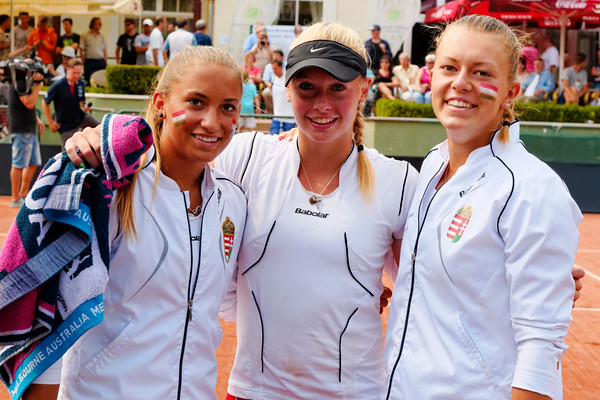 01.14 Team Hungary - Junior fed cup final round girls 16 years 2014_01.14