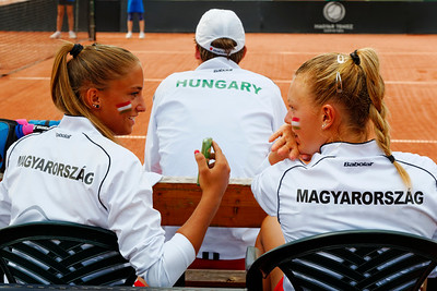01.06 Panna Udvardy and Dalma Galfi - Team Hungary - Junior fed cup final round girls 16 years 2014_01.06