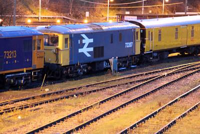 73207 seen at Tonbridge Yard.