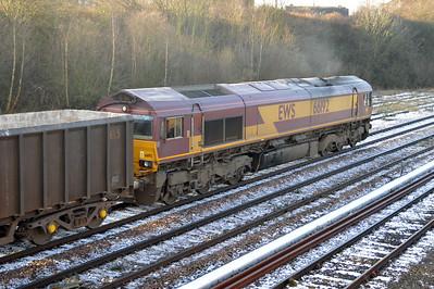 66192 1157/6D16 Cottam-Ferrybridge passes Knottingley.