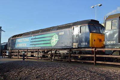 47818 on Crewe Gresty Bridge.