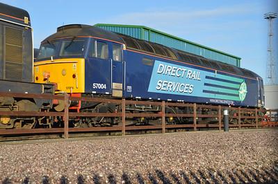 57004 on Crewe Gresty Bridge.