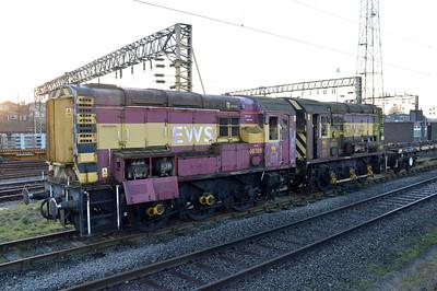 08580 & 08709 stored at Bescot.