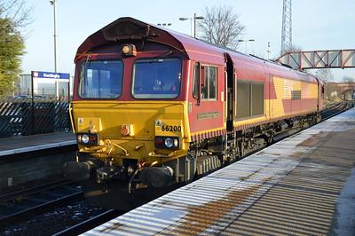 66200 1249 Knottingley-Milford passes Knottingley.