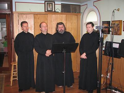 Konevets Quartet Sings Liturgy at St. Vladimir Church