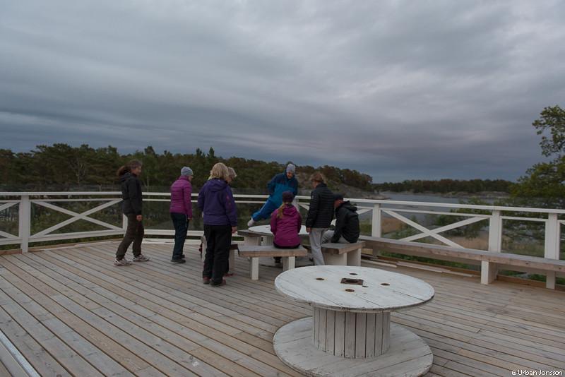 Studiebesök på Finnhamns nya skybar...