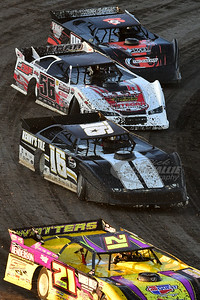 21 Billy Moyer, 16 Austin Siebert, 56 Tony Jackson, Jr. and 02 Tommy Weder