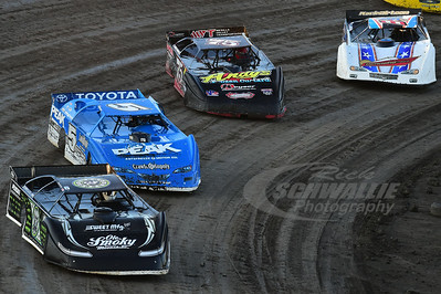 0 Scott Bloomquist, 5 Don O'Neal, 75 Terry Phillips and 2b Jason Bodenhamer