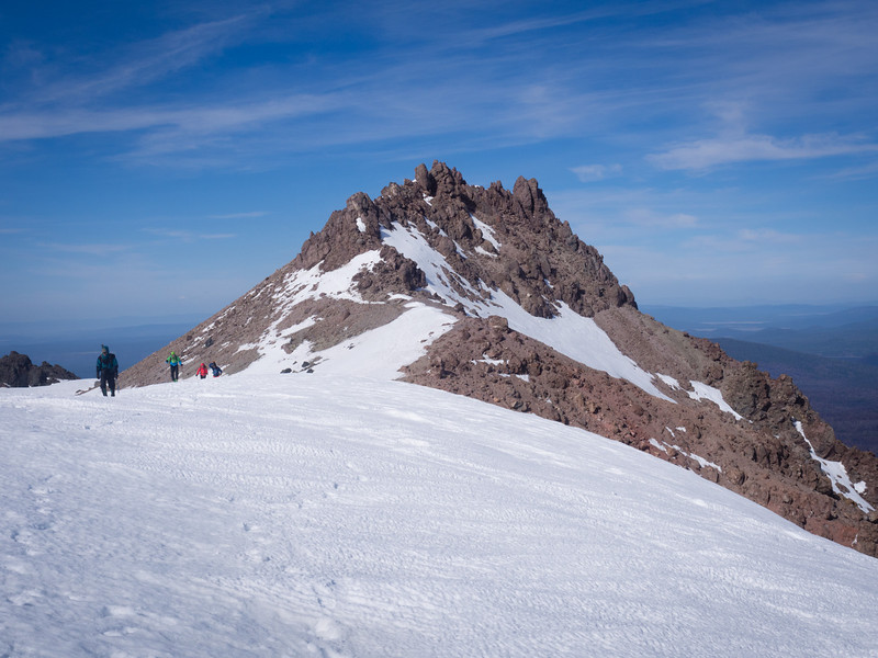 Returning from the summit