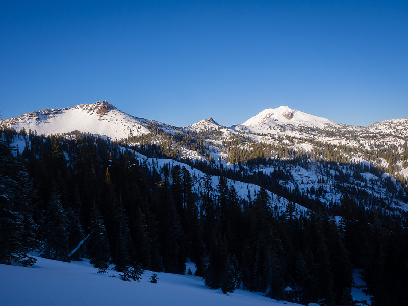 Mt. Diller and Lassen Peak