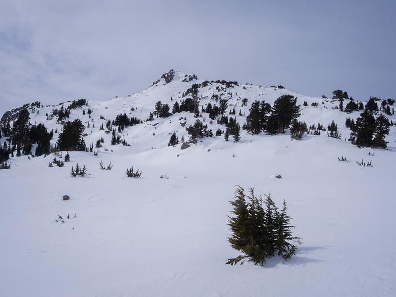 Toward Eagle Peak