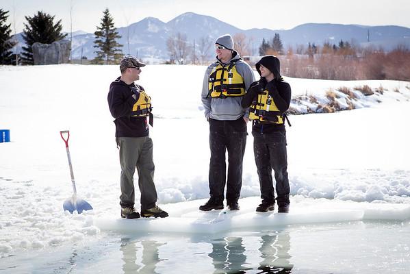 Law Enforcement Polar Plunges