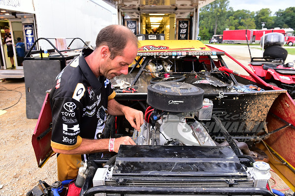Steve Francis crew chief - Tommy Grecco