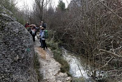 Torrent vers Roques Hautes