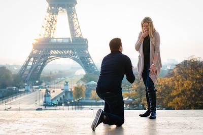 Lia & John Paris proposal