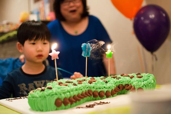 Liam 3rd Birthday Party