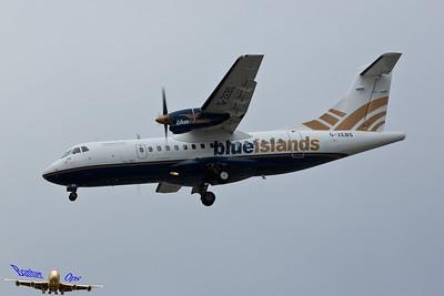 ATR-42 G-ZEBS Blue Islands
