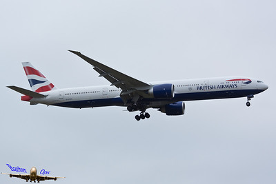 Boeing 777 G-STBG British Airways